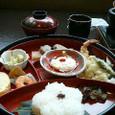 松花堂と湯葉フォンジュ鍋
